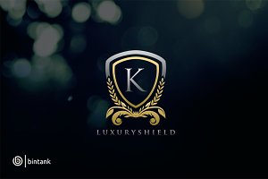 Luxury Shield K Logo