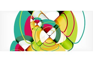 Circles and triangles geometric