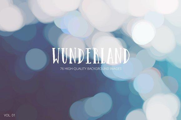 Wunderland - 76 Backgrounds Vol. 01 - Patterns