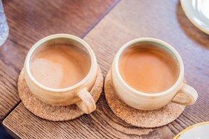 Homemade Indian Sweet masala tea