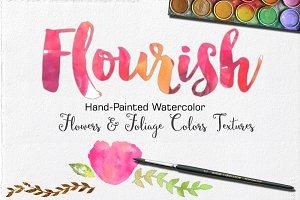 Watercolor Texture Set