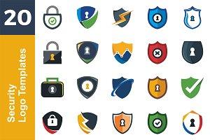 20 Logo Security Templates Bundle