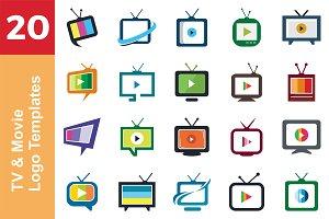 20 Logo TV & Movie Templates Bundle
