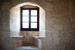 Window  in an old castle