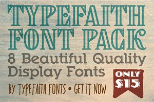 TypeFaith Creative Font Bundle