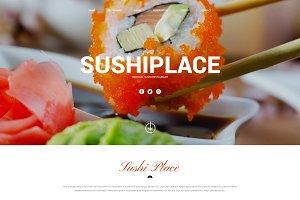 SushiPlace-HTML5 Responsive Theme
