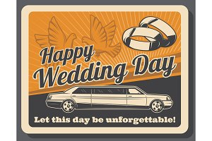Wedding ceremony, bridal rings