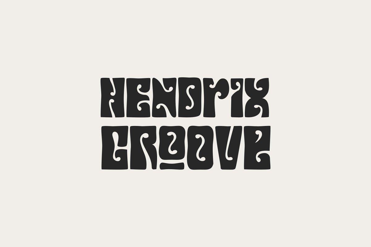 Hendrix Groove ~ Display Fonts ~ Creative Market