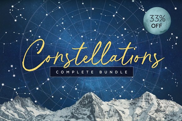 Constellations Vector Bundle in Illustrations - product preview 11