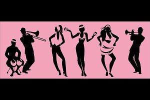 Salsa dancing group III