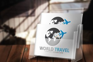 World Travel Logo Version 2