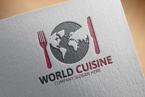 World Cuisine Logo
