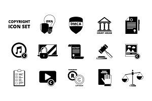 Policy copyright icon. Terms and