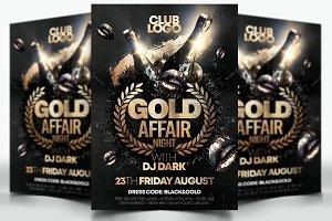 Gold Affair Night Flyer
