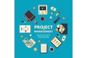 Project management background