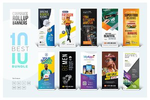 Best Corporate Rollup Banner Bundle