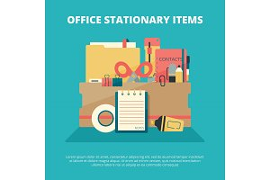 Office stationary collection