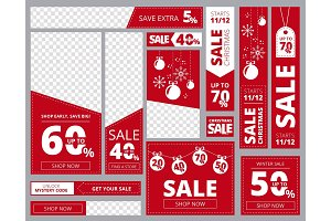 Web banners standard sizes
