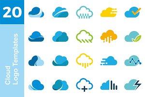 20 Logo Cloud Templates Bundle