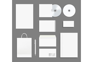 Business identity stationary. Office