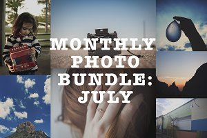 Monthly Photo Bundle