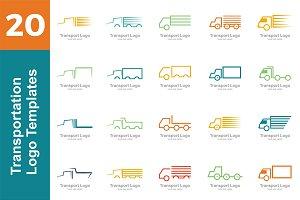 20 Logo Transportation Bundle