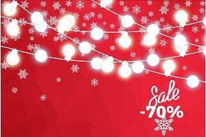 Sale 70 Percent Winter Concept