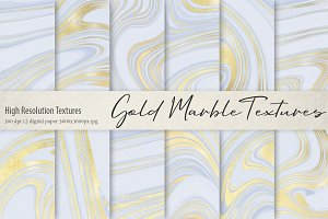 Gold Marble Textures
