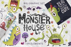 Monster House. Big graphic pack.