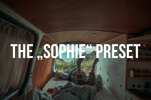 """""""SOPHIE"""" Lightroom Preset"""