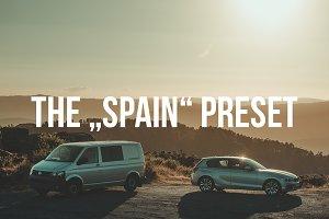 """SPAIN"" Lightroom Preset"