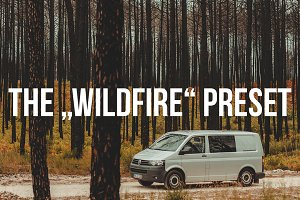 """WILDFIRE"" Lightroom Preset"