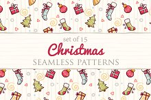 Set of 15 Christmas patterns