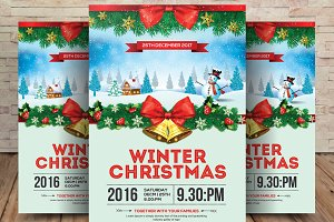 Christmas Journey Event Flyer/Poster