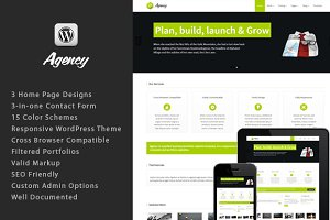 Responsive WordPress Theme:Agency