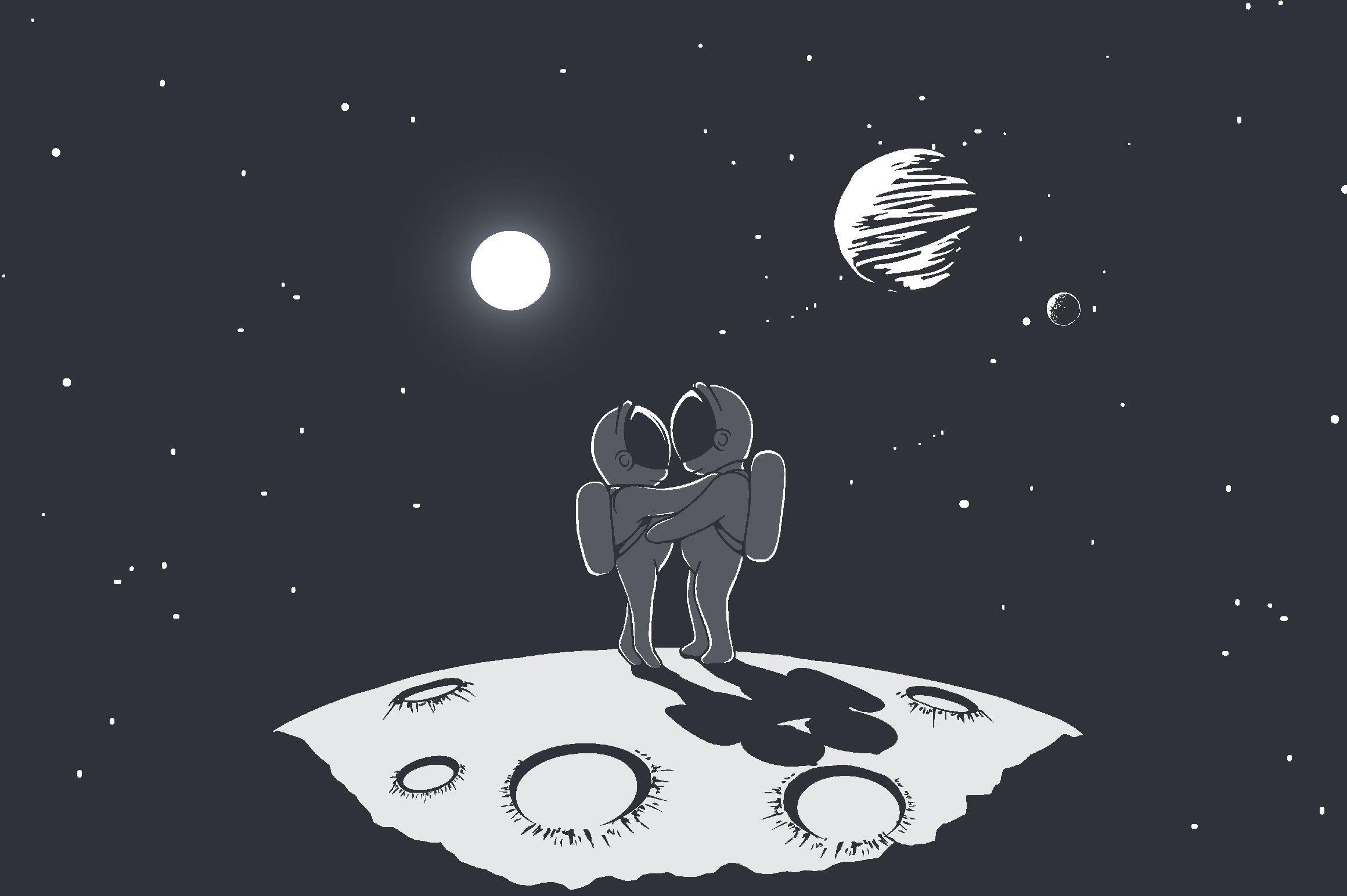 Space love ~ Illustrations ~ Creative Market