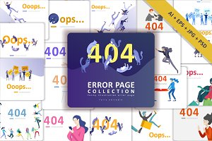 Error web page templates collection