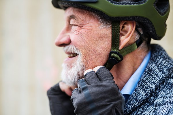 People Images: HalfPoint - A close-up of active senior man