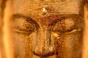A buddha figure