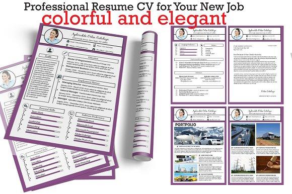 Resume CV new version vol.1 - Resumes