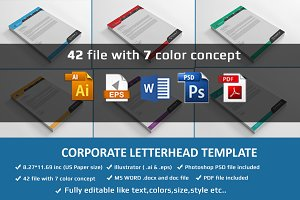 Letterhead With Microsoft Word File