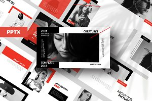 Creature - Powerpoint Template