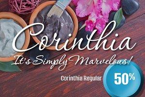 Corinthia Regular 50% Off