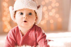Cte baby girl closeup