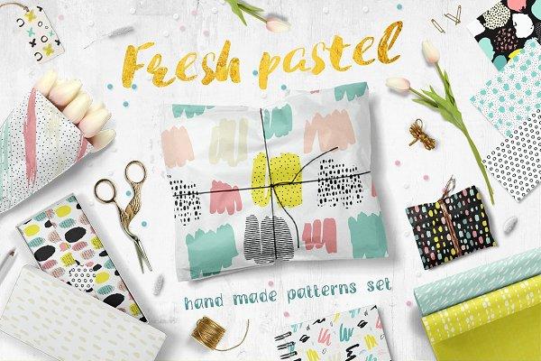 Fresh Pastel Patterns