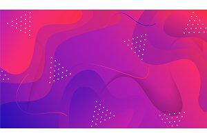 Geometric gradient background