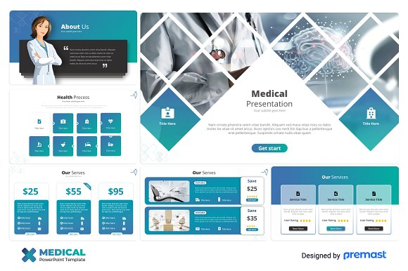 medical powerpoint template presentation templates creative market