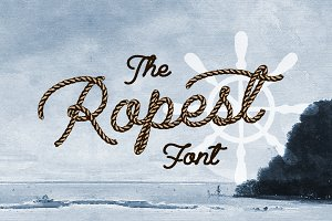 Ropest - Decorative Font