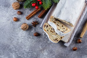 Traditional Christmas festive pastry