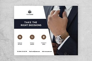 Horizontal Business Flyer